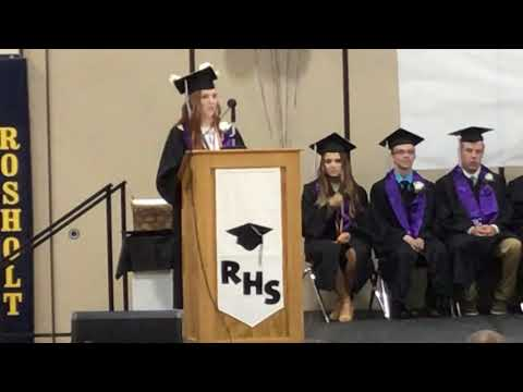 Class of of 2019 (100th Graduating Class of Rosholt High School)