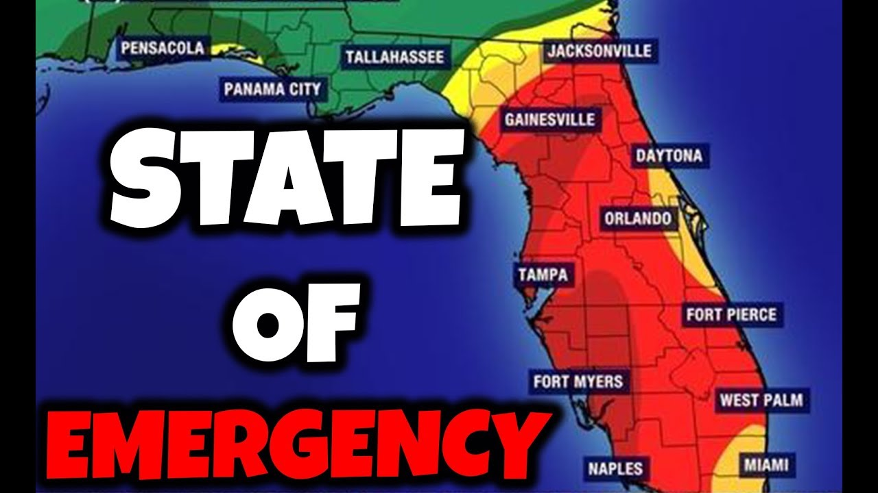 Florida Now Under State Of Emergency Toxic Water Update