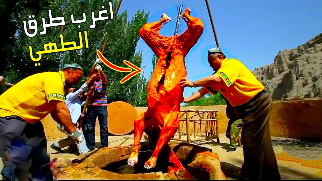 عندما يتم طهي لحم الإبل في أكبر فرن ؟ اغرب التقاليد  النادرة في الصين
