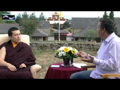 His Holiness the 17th Karmapa interview John Consemulder