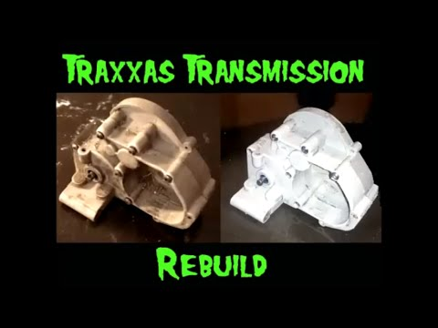 How To - Remove and Rebuild a Traxxas Transmission 2wd Slash,  Rustler   Part 2