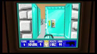 Wolfenstein 3D Episode 5 Floor 6