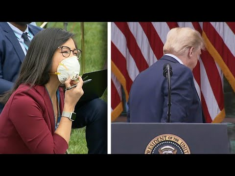 President Abruptly Ends Briefing After Reporter Pushes Back