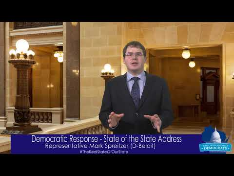 Rep. Spreitzer: State of the State Response