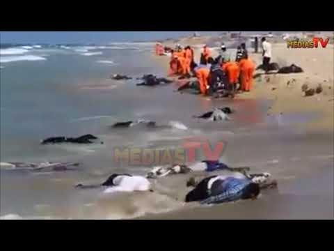 Maroc! Immigration Clandestine: Après Le Chavirement D'un Bateau à Tanger, Les Corps Ont été.......