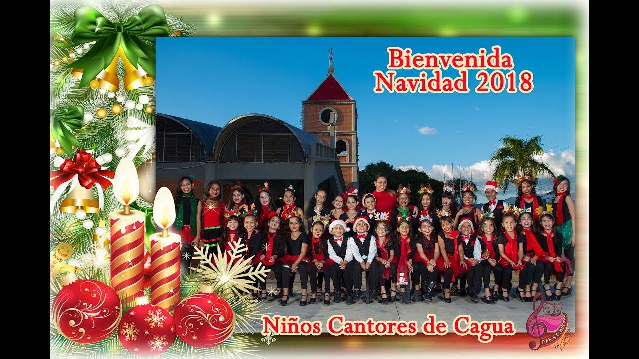 NAVIDAD NIÑOS CANTORES DE CAGUA ( Mensaje navideño 2018)