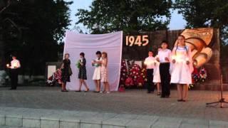 Петропавловка 9 мая 2013 год Памятник погибшим воинам Великой Отечественной Войны