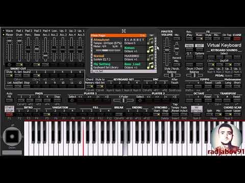 Qoca dağlar - KORG PA4X Azəri - PC