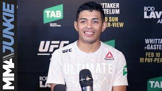 UFC 234: Jonathan Martinez full post-fight interview