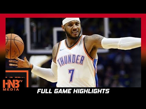 Oklahoma City Thunder vs Portland Trail Blazers 1st Half Highlights / Week 3