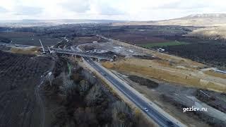 Фото Крым трасса Таврида 6 этап мост через реку Альма вблизи с. Тополи Бахчисарайский район
