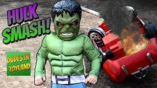 Hulk Smash! The Incredible Hulk Kid Power Wheels Super Hero Toys Toddler Costume