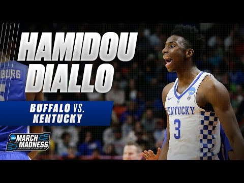 Kentucky's Hamidou Diallo put up 22 points in the Wildcat's Second Round victory
