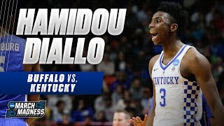 Kentucky\'s Hamidou Diallo put up 22 points in the Wildcat\'s Second Round victory