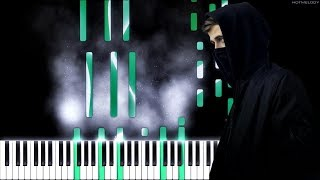 Download Alan Walker - Avem (The Aviation Theme)   Piano Cover, Tutorial