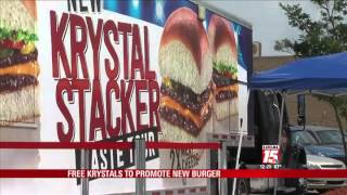 Free Krystals to Promote New Burger