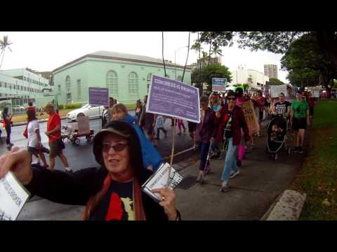 Women's March Honolulu 2