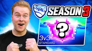 SEIZOEN 3 IS BEGONNEN! DIT IS MIJN RANK.. 🏆 - Rocket League Ranked (Nederlands)
