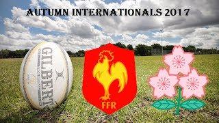Autumn Internationals Tests Match 2017  France v Japan