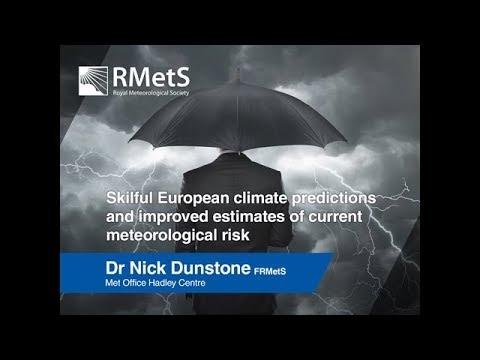 Risky Business: Nick Dunstone (Met Office) Presentation
