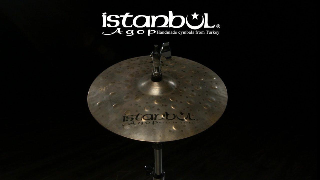 "ISTANBUL 17/"" XIST Dry Dark HiHat"