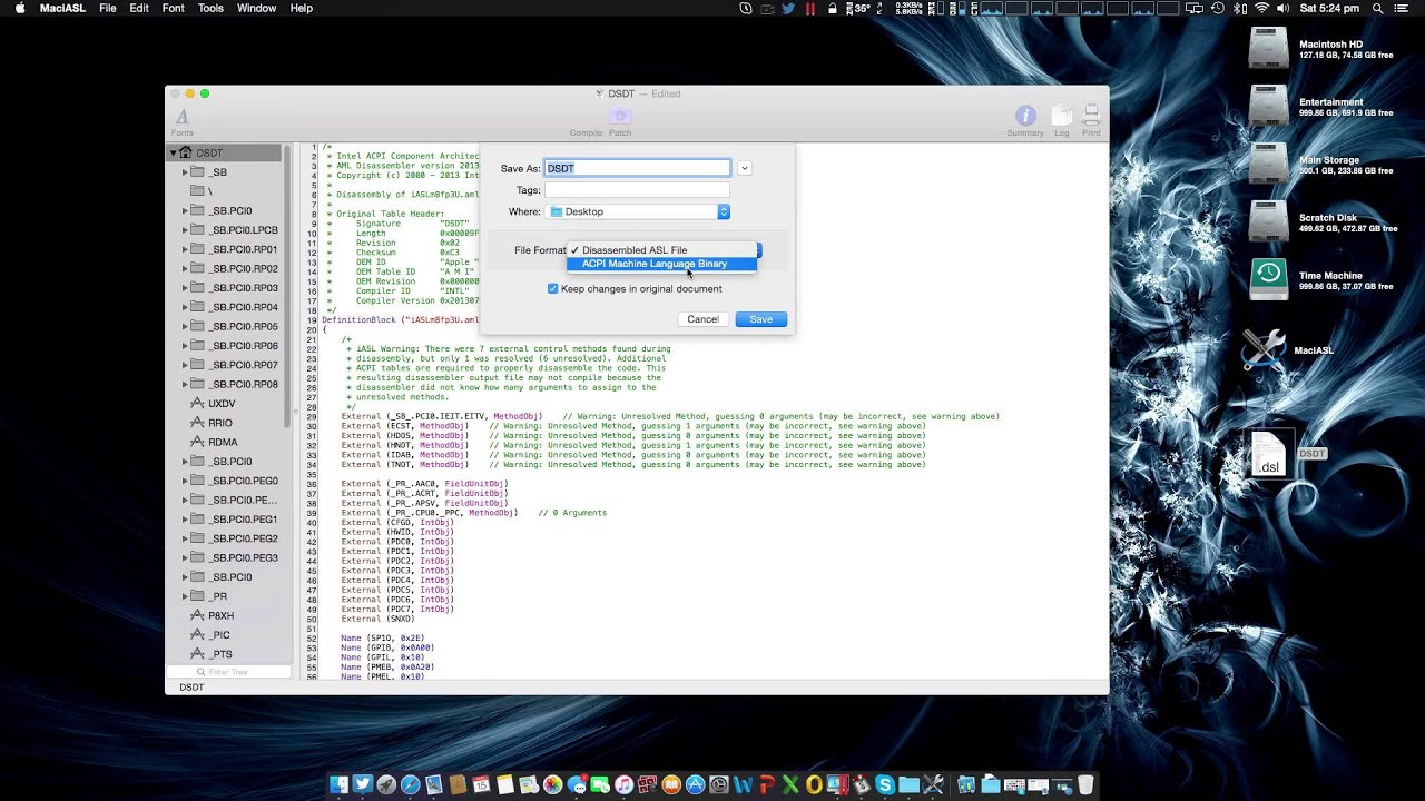Hackintosh) Creating a DSDT to fix USB3 in Yosemite