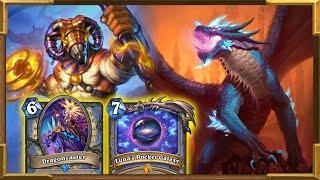 Hearthstone: Luna's Pocket Galaxy Dragoncaster Big Mage Is Broken | Descent of Dragons New Decks