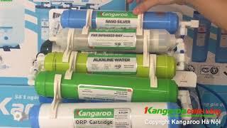 Tận mắt Máy lọc Nước Kangaroo KG109A mới 2018