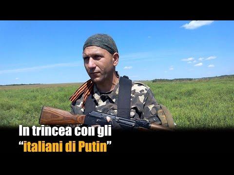 """In trincea con gli """"italiani di Putin"""""""