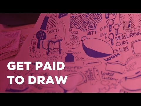 How To Make Money Drawing For Fun