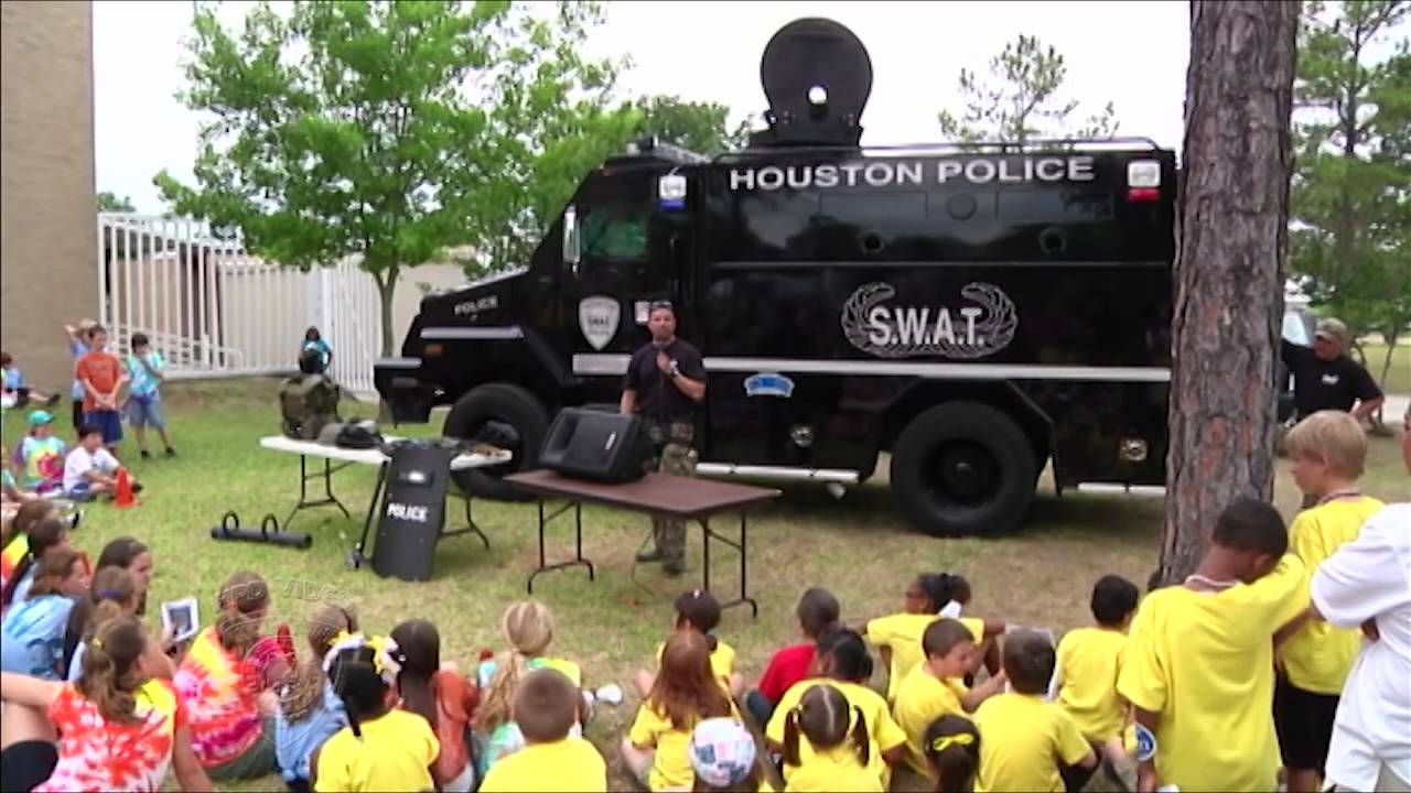 Download Kids Get an Inside Look at HPD (Houston Police Department, HPD Video Production, CG)