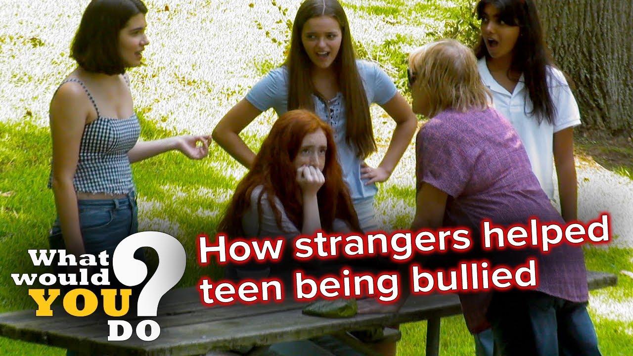 Download How strangers helped teen being bullied | WWYD
