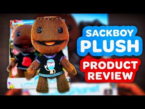 LittleBigPlanet Sack Boy Plush Toy Review (BEST PLUSH DOLL YET!)