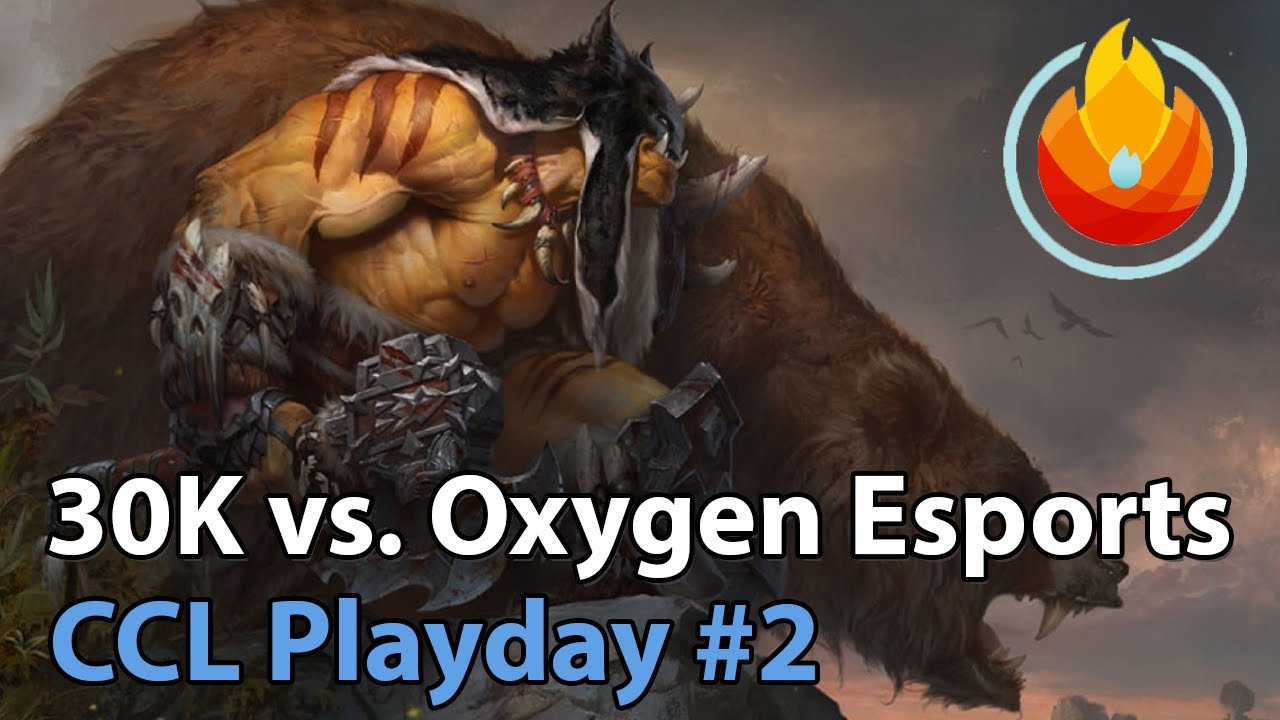 CCL: Oxygen Esports vs. 30K - Heroes of the Storm Tournament