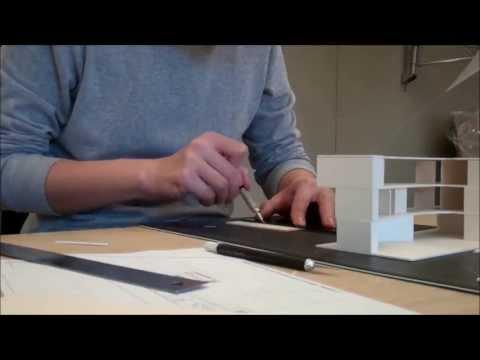 BUILDING SKETCH MODEL IN ARCHITECTURE STUDIO | sketchawayray