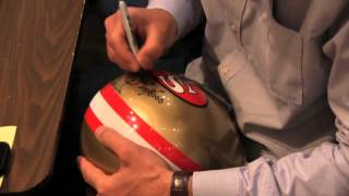 Dwight Clark writing out
