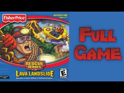 Whoa, I Remember: Rescue Heroes Lava Landslide: Full Game