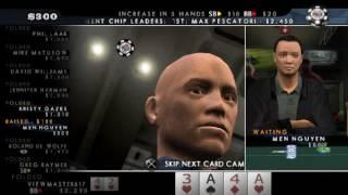 WSOP 2008 Battle for the bracelets Longplay