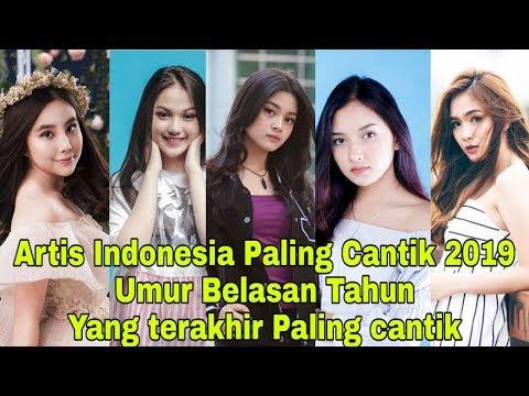 Artis Indonesia Paling Cantik U0026 Muda Umur Belasan Tahun, Urutan Dari Yg Paling Muda