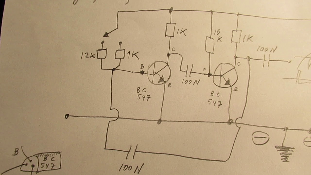 Beginners circuit to learn a lot about electronics, especially oscillators (practical schematic)
