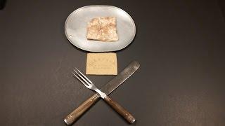 1863 american civil war hardtack oldest cracker ever eaten military mre food review tasting test