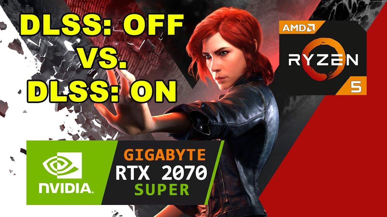 Control RTX 2070 Super | Ryzen 5 2600 | DLSS On vs DLSS Off Performance