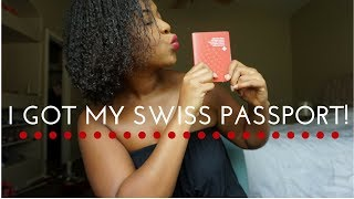 I got a Swiss Passport! | VLOG