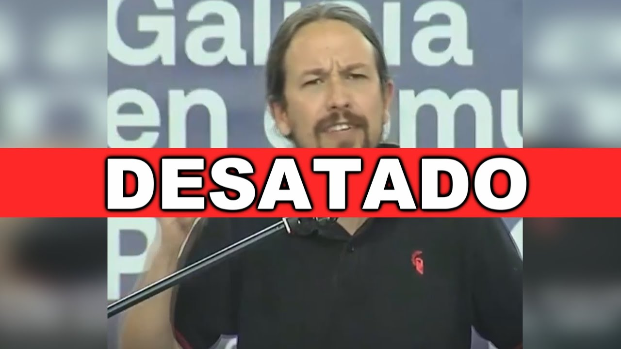 PABLO IGLESIAS ha perdido el rumbo y DESATA su frustración contra las propuestas de VOX