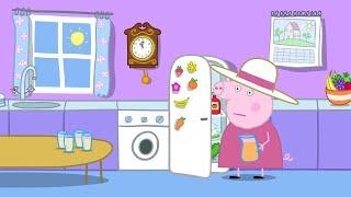 Peppa Pig Full Episodes - Grandpa's Toy Plane - Cartoons for Children