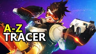♥ A - Z Tracer -  Heroes of the Storm (HotS Gameplay)