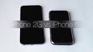 Смотрим на первый iPhone 2G!