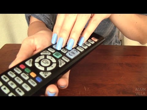 ASMR * Tapping & Scratching * Theme: Remotes! * Fast Tapping * No Talking * ASMRVilla