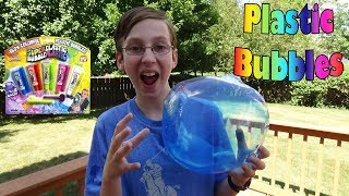 As Seen On TV Wubble Bubble Plastic Balloons Toy Review | CollinTV