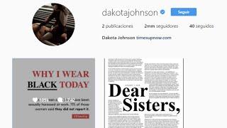 Dakota Johnson triunfa en Instagram con solo dos post
